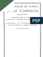 De Loyola, Ignacio - Obras Completas