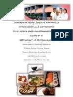 Restaurante de Especialidades