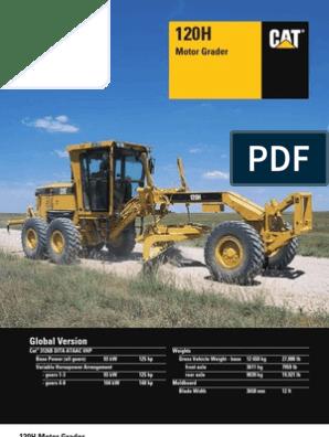 120H CAT | Transmission (Mechanics) | Engines