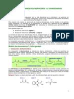 DESCONEXIÓNES DE COMPUESTOS 1,3-DIOXIGENADOS