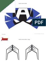 DM Avenger Captain America Mask Printable 0910