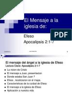 Apocalipsis 2_1-6 Carta Iglesia de Efeso