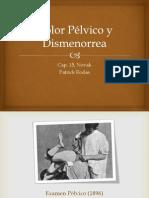 Dolor Pelvico y Dismenorrea_Patrick