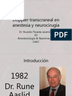 Doppler transcraneal en anestesia y neurocirugía