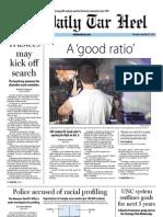 The Daily Tar Heel for September 27, 2012