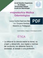 CLASE1-CONCEPTOS DE PROPEDEUTICA MEDICA ODONTOLOGICA