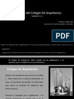 Tema 7 - Aranceles Del Colegio de Arquitectos