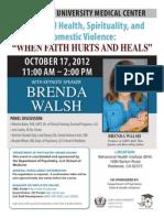 BRENDA WALSH keynote speaker