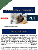 AP Unidad o1 La Administracion Publica
