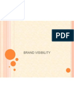 Brand Visibility Ppt