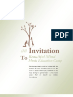 Beautiful Mind Invitation Form