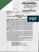 120511 Notice of Default