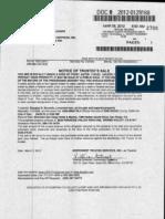 030612 Notice of Trustees Sale