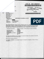 120511 Assignment of Deed of Trust