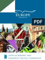 Annual Report 2005 European Travel Commission