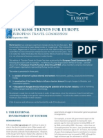 ETC Tourism Trends for Europe 2006