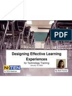 Designing Effective Technology Learning Experiences for Nonprofits 17015