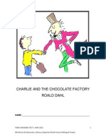 Charlie and the Chocolate Factory - Reading Test