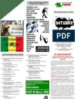 El Cerro programación Octubre 2012