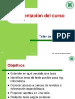 TIA01 Presentacion Del Curso
