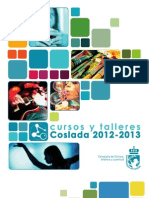 Folleto Coslada Talleres Cultura 2012-13