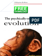 The Psychically-Oriented Evolution