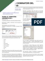 Guida al Computer - Lezione 69 - Il Sistema Operativo