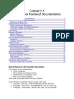 SQL Server Support DBA DOC