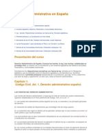 Derecho Administrativo en España