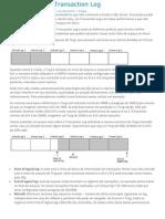 Arquitetura Do Transaction Log