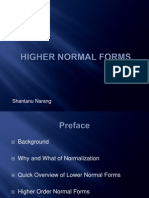 Shantanu Narang - Higher Normal Forms