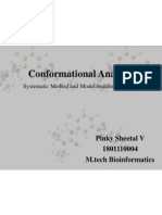 Conformational Analysis - Molecular Dynamics