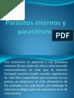Parásitos internos y parasitismo