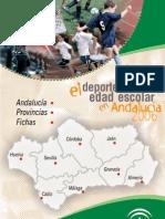 El Deporte en Edad Escolar en Andalucia 2006