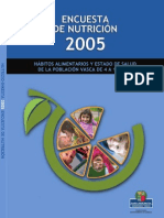 Encuesta Nutricion Infantil 2005_CAPV
