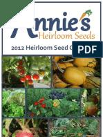 2012 Annie's Catalog Complete