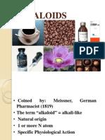 Alkaloid Ppt 5 Th Sem