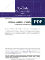 Briefing on National Galleries of Scotland Bill