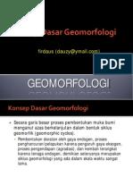 02. Konsep Dasar Geomorfologi