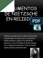 Argumentos de Nietzsche en religión