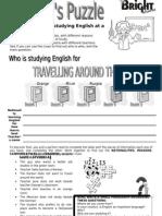 Einsten's Puzzle English (Student's) BW