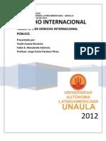Taller Derecho Internacional Publico