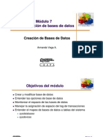 Modulo 7 (3 Creacion DB) Sybase