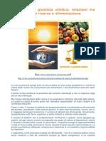 Nutrizione e Giustizia Olistica