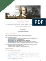 Programa Congreso Rousseau