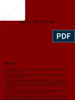Horror Sci-Fi Study