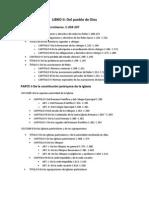 LIBRO II Estructura  Derecho canónico