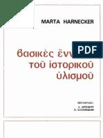 Βασικές Έννοιες Του Ιστορικού Υλισμού - Μάρτα Χάρνεκερ