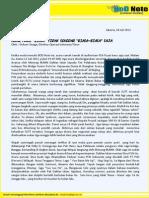 BoDNote Juli 2012 - Agar Yang Biasa Tak Sekedar Biasa-Biasa Saja