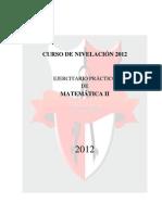 Curso de Nivelacion - Matematicas II